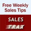Sign up for Free Weekly Sales Tips